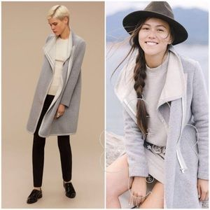 Aritzia Babaton Cormac Wool Coat